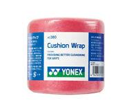 YONEX Cushion Wrap Racquet Grip Tennis Badminton Racket Tape Pink 1PC AC380