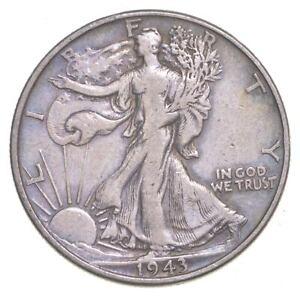 1943 Walking Liberty 90% Silver US Half Dollar *294