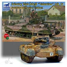 BRONCO MODELS 1/35 INFANTRY TANK Mk.III 'VALENTINE' Mk.IX KIT 35144