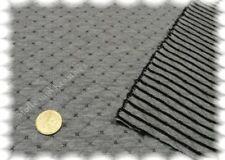 Alba grau Stepp-Sweatshirtstoff Doubleface Hilco Rauten Streifen 25 cm
