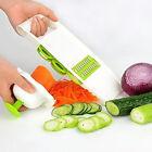 5 in 1 Adjustable Mandoline Vegetable Fruit Slicer Dicer Chopper Nicer Grater CN