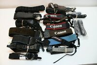 19 Vintage Camera Straps - Assorted Styles & Types Canon 1 Tamrac & Others...