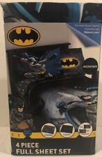 Warner Bros. Batman Guardian Speed 4pc Full Sheet Set (D)