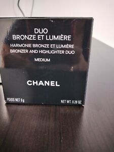 CHANEL Duo Bronze Et Lumiere Bronzer And Highlighter #Medium 8g/0.28oz