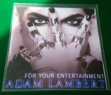 Adam Lambert - For your entertainment Rare PROMO 4 Mix CD Single