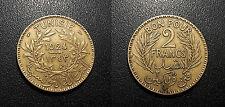 Tunisie - colonie Française - bon pour 2 francs 1924 - KM#248