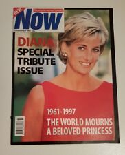 Now Magazine - Princess Diana Death Tribute Issue - 11 September 1997 - VGC