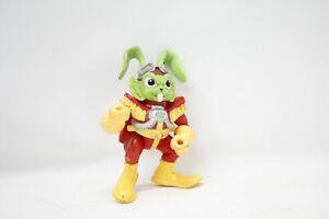 "Vintage Bucky O'Hare 'Bucky O'Hare 5"" Action Figure with CAPE Hasbro 1990"