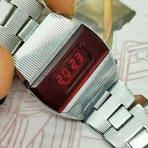 ⭐Rare VINTAGE Soviet wrist watch Elektronika 1 pulsar digital made in USSR 1970s