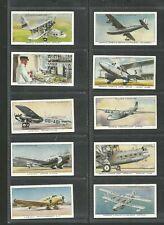 CIGARETTE CARDS JOHN PLAYER 1936 INTERNATIONAL AIR LINERS - FULL SET
