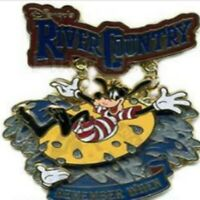 Disney Pin 51512 WDW White Glove Remember When River Country Goofy Water Park LE