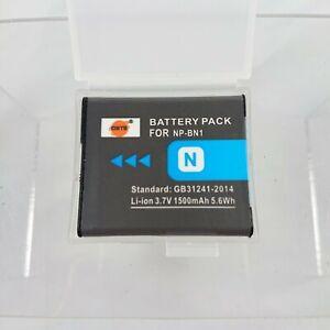 Li-ion Replacement 3.7V 1500mAh Battery  Sony NP-BN1 Cyber-Shot Digital Camera