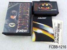 Complete Batman (Sunsoft) Famicom Japanese Import Boxed FC NES US Seller B