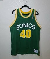 4aa9f0c9 Champion Seattle Super Sonics Shawn Kemp jersey size 48 XL Vintage Original