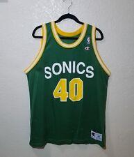Champion Seattle Super Sonics Shawn Kemp jersey size 48 XL Vintage Original