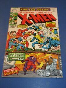 Uncanny X-men Annual #1 Silver Age Key Avengers VGF Wow