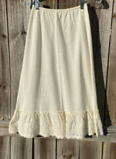 Vintage Cotton Have Slip Lace Boarder /Petticoat With Small Boho