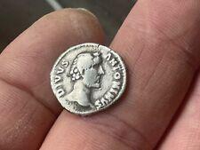 Antonius Pius Denarius.3.2g.Posthumous.Eagle.Consecratio.