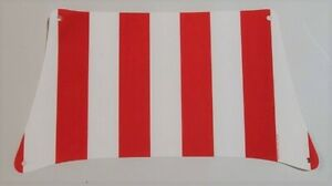 new LEGO Cloth Sail No 114 with red /& white stripes from Pirate Ship set 21322