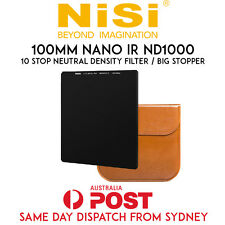 NISI 100x100mm Nano IR Neutral Density Filter ND1000 (3.0) – 10 Stop Big Stopper
