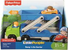 Fisher-Price DRL43 Little People Ramp n Go Carrier Playset