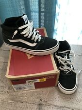 Vans Black High Top Shoes. Women's Sz 7.5 Worn