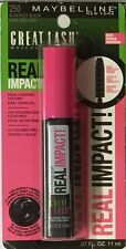 Maybelline Great Lash Real Impact Mascara - New & Sealed - Assorted Colors  GOB