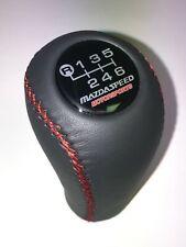 Mazda Speed Shift Knob Fits For Mazda3 6 Miata Mx5 Mx6 6 Speed Dark Grey