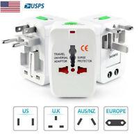 Universal Travel Adapter Charger Converter AC Power Plug Socket US to EU Europe