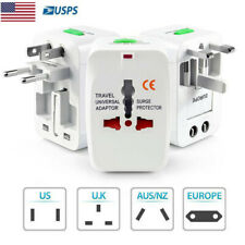 Universal Travel Adapter Charger Converter AC Power Plug Socket US to EU Europe