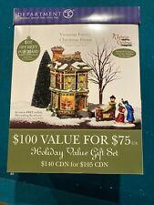 "Dickens Village department 56 ""Victorian Family Christmas House"""