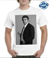 Tee-shirts  Robert Hossein  acteur réalisateur noir et blanc