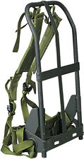 Black Alice Pack Frame with Olive Drab Straps & Kidney Pad
