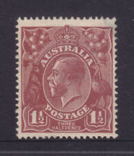 Red Superb Australian Postal Stamps by Type