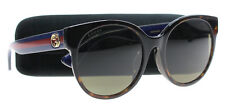 NEW Gucci Sunglasses Women GG 0035 Brown 003 GG0035/SA 56mm