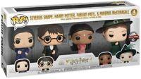 Funko Pop! Harry Potter Severus Snape Parvati Patil Minerva McGonagall 4 Pack