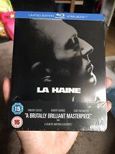 La Haine (Zavvi Exclusive) Steelbook (Region B) Blu-ray NEW Very Rare UK