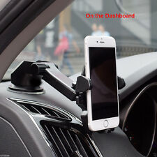 360° Car Holder Windshield Mount Bracket For iPhone Samsung Mobile Cell Phone UK