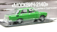 Moskvich 2140 AutoLegends USSR 1976. Diecast Metal model 1/43. Deagostini. NEW
