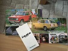 LADA 1200 SALES SHEETS AND PRICE LIST 1975