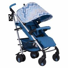 My Babiie MB51 Stroller / Pram / Pushchair / Buggy Samantha Faiers Blue Chevron