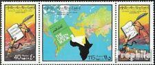 Libië 621-623 Drie strips (compleet.Kwestie.) postfris MNH 1977 dat Groen Boek v