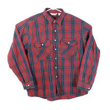 Vintage 80's WearGuard Men's Flannel Camp Heavy Shirt Xl