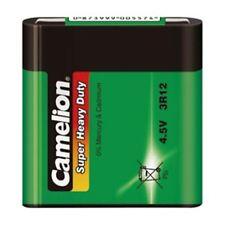 3R12 Zink-Kohle-Batterie 4,5 Volt Flachbatterie Super Heavy Duty Shrink Camelion