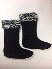 Corkys Womens Fashion Fleece Boot Warmer Sock-Rain/Cold Weather Boot Liners SM