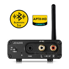 HiFi Bluetooth-Empfänger Stereo Audio Receiver APTX-HD Opt/Coax DAC Decoder Amp