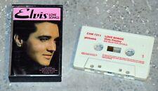 Cassette Audio Elvis Presley - Love songs - K7