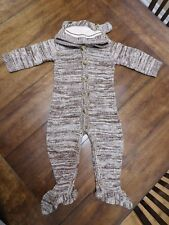 Crazy 8 Sock Monkey Outfit Baby Toddler Costume 12-18 months 12M 18M Brown
