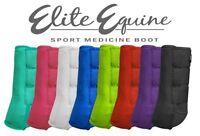 ELITE EQUINE Showman SPLINT BOOTS Sport Medicine Full Horse Size (Set of 2)