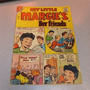 My Little Margie's Boy Friends #8 charlton comics 1957 silver age tv radio show